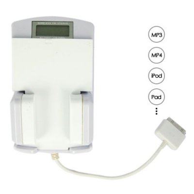 Built-in USB Interface 5-in-1 FM Transmitter Suitable for Many Digital Devices